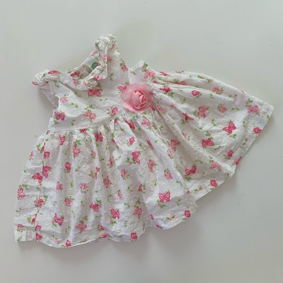 b6558b6bc6ea7 Little Me Baby Girls Easter Dress 6 Months Floral